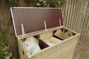 kisten voor tuinkussens
